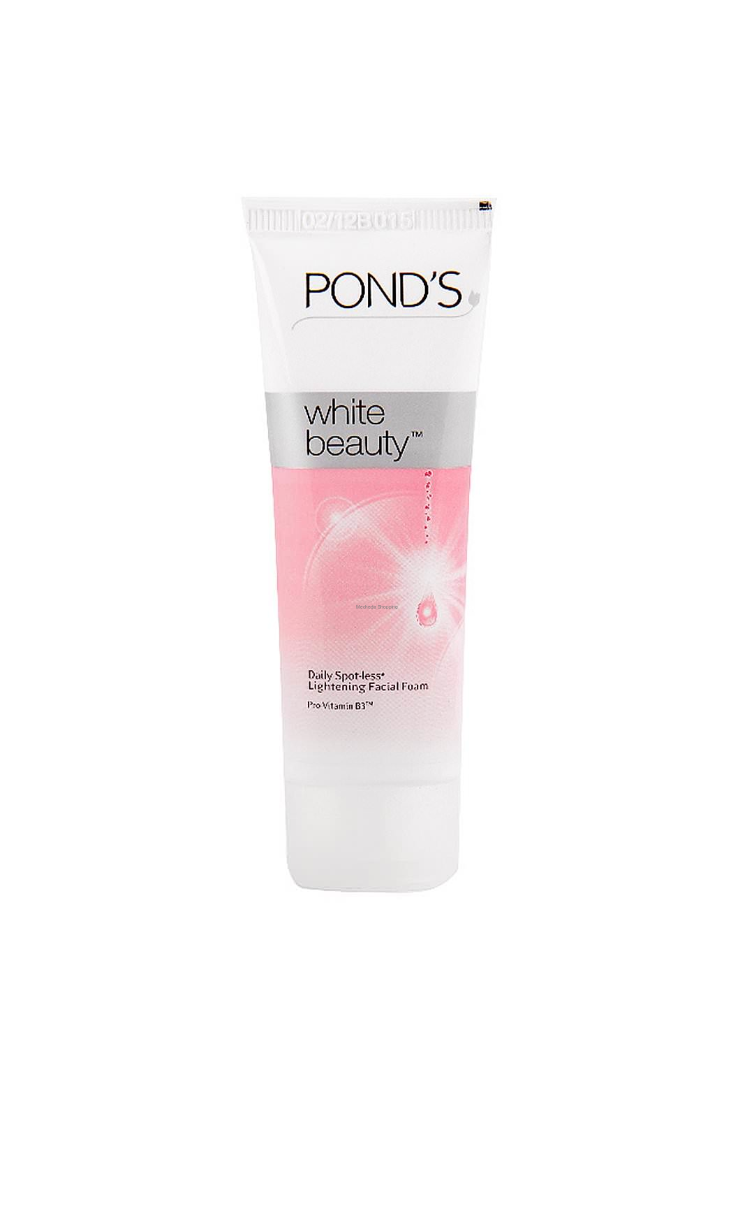 Beauty Care Face Wash Ponds White 100 Gm Package
